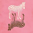 Zebras Pattern by thejoyker1986