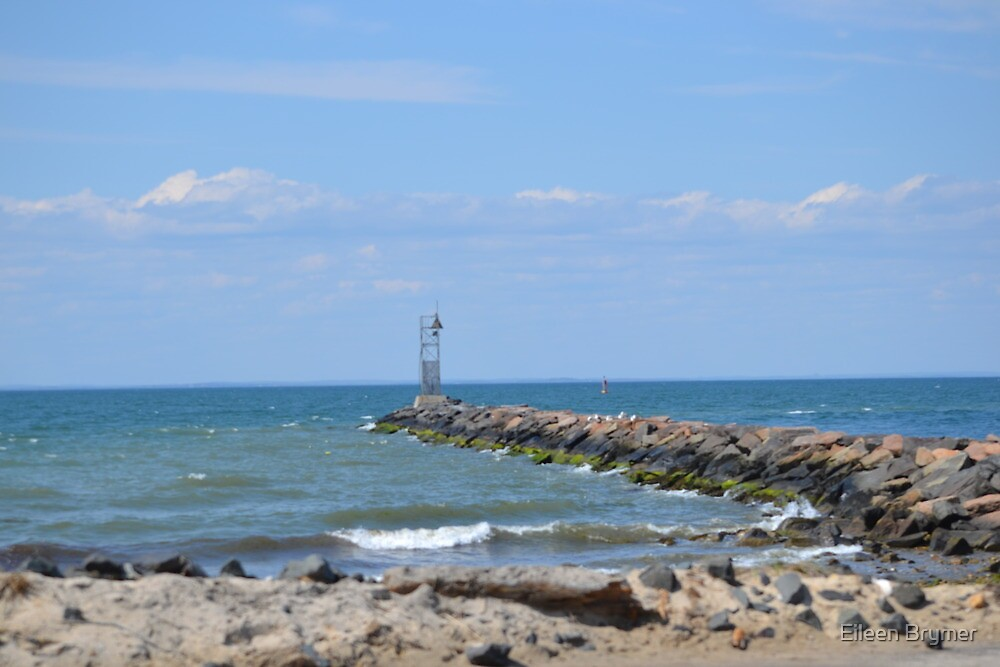 A Jetty off Montauk Point by Eileen Brymer