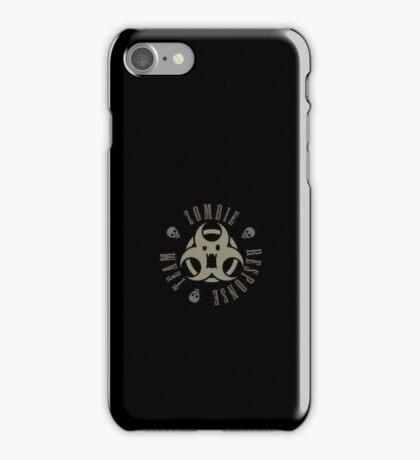 Zombie Response Team VRS2 iPhone Case/Skin