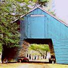 Historic  Corn Barn  by fiat777