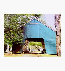 Historic  Corn Barn  Photographic Print