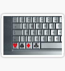 On-line Casino Sticker