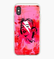 Pink Marilyn stardust iPhone Case