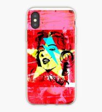 Blue flash Marilyn stardust 2 iPhone Case
