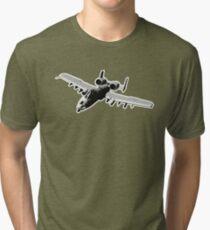 Fairchild Republic A-10 Thunderbolt II - Tank Buster Tri-blend T-Shirt