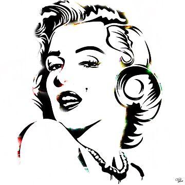 Marilyn  by morganPASLIER