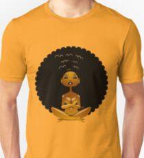 Afro Girl Spirit Slim Fit T-Shirt