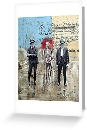 HOMBRES QUE CAMINAN DE LA MANO CON LA MUERTE (men who walk hand to hand with death) by Alvaro Sánchez