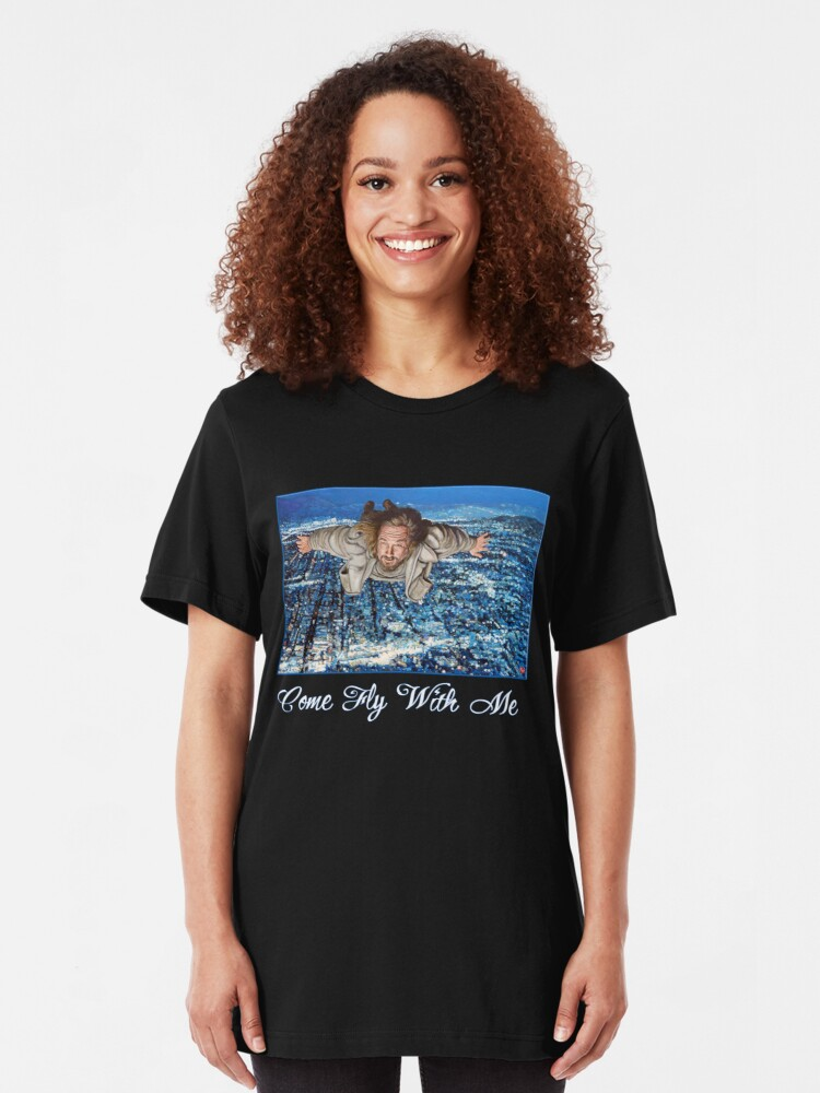 Alternate view of Come Fly With Me Slim Fit T-Shirt