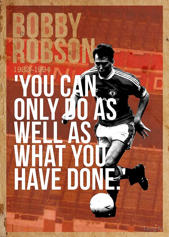 Bryan Robson by Terry To