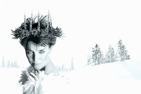 Snow Queen of Narnia by Andrew Bret Wallis