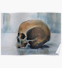 Skull Torso Poster