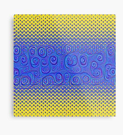 #DeepDream Color Circles Gradient Visual Areas 5x5K v1449227497 Metal Print