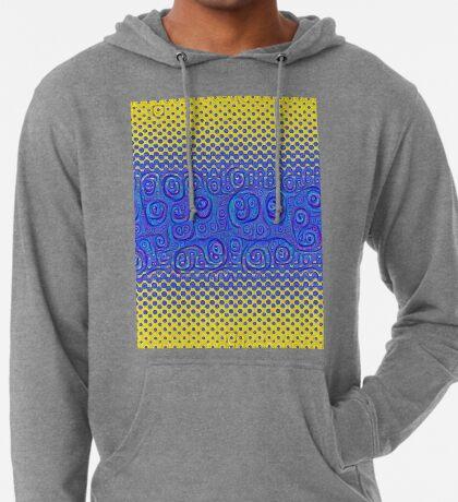 #DeepDream Color Circles Gradient Visual Areas 5x5K v1449227497 Lightweight Hoodie