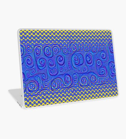 #DeepDream Color Circles Gradient Visual Areas 5x5K v1449227497 Laptop Skin