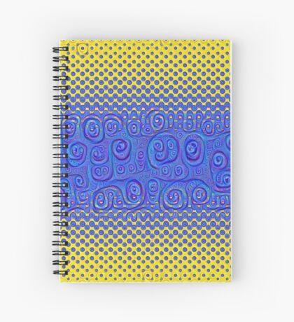 #DeepDream Color Circles Gradient Visual Areas 5x5K v1449227497 Spiral Notebook