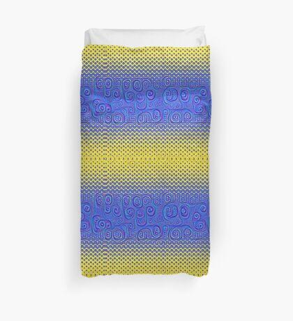 #DeepDream Color Circles Gradient Visual Areas 5x5K v1449227497 Duvet Cover