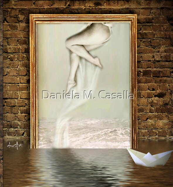 Triptych plus two by Daniela M. Casalla