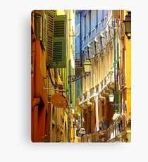The Old Town Of Nice Canvas Print