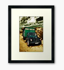 vintage lorry Framed Print