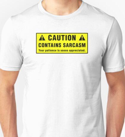 Caution: Contains Sarcasm T-Shirt