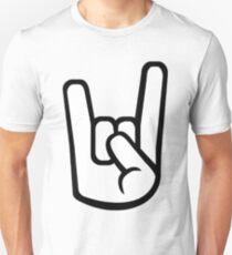 Rock Hand Symbol T-Shirt