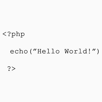 "php - ""Hello world""  by enedois"