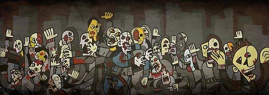 Zombie Parade by Nimbws