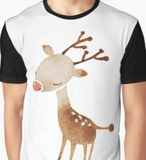 Rudolf the reindeer Graphic T-Shirt