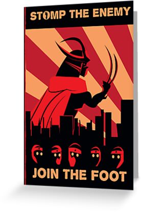 The Foot wants you! by Justin Valdivia