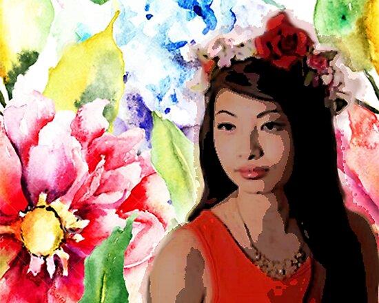 Flower Child by LadyWinnex