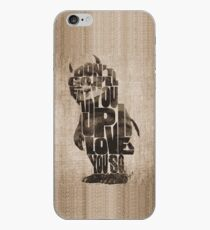 Where The Wild Things Are Typography iPhone Case