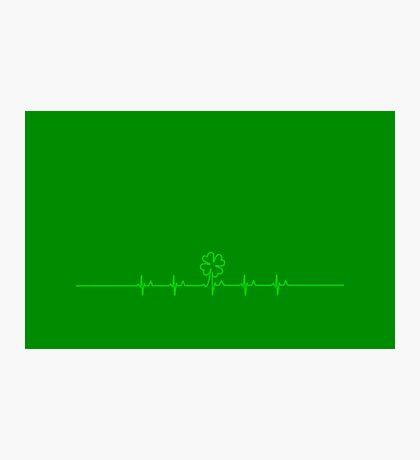 Heart Beat for Ireland VRS2 Photographic Print