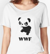 Yancham WWF Tee Women's Relaxed Fit T-Shirt