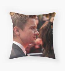 Jeremy Renner Throw Pillow