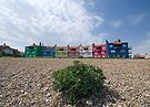 Colourful Accommodation  by Nigel Bangert