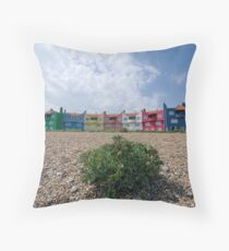 Colourful Accommodation  Throw Pillow