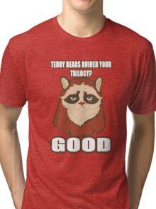 Grump-E-Wok Tri-blend T-Shirt