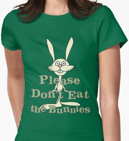 Please Don't Eat the Bunnies T-Shirt