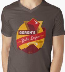Ruby Lager Men's V-Neck T-Shirt