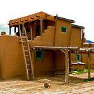 Adobe dwelling by Nancy Richard