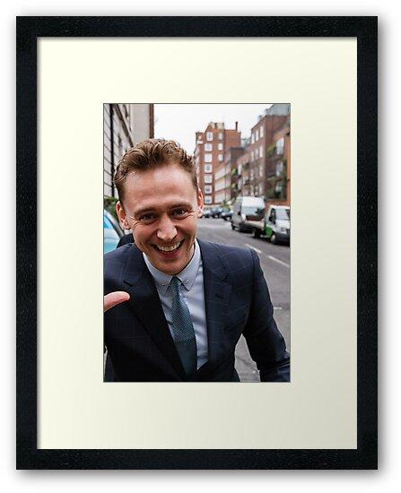 Tom Hiddleston by Paul Bird