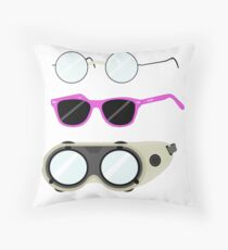Glasses and Goggles- Potter/Starkid/Dr.Horrible Throw Pillow