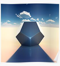 Dodecahedron Poster