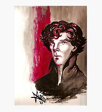 Sherlock - Into Darkness Photographic Print