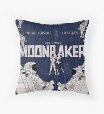 MOONRAKER Throw Pillow