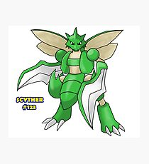 Scyther #123 Photographic Print