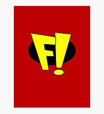 freakazoid logo Photographic Print