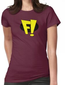 freakazoid logo Womens Fitted T-Shirt