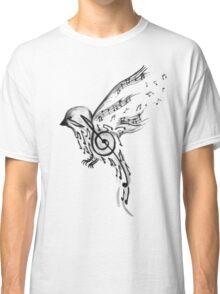 Musical bird  Classic T-Shirt